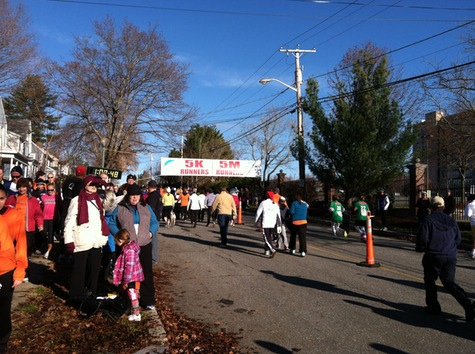 Feaster Five Thanksgiving Day Race