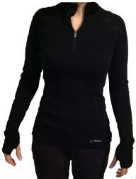 LL Bean Women's Cresta Wool Base Layer