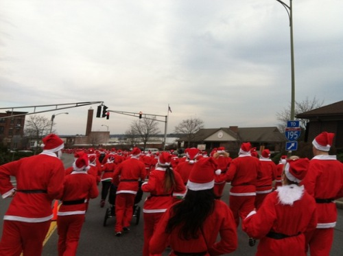 Santa Sightings 5K Fun Run