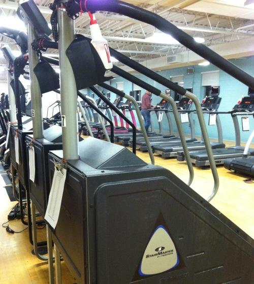 YMCA treadmills