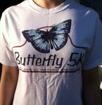 Butterfly 5K Road Race. North Attleboro, MA. August 21, 2011