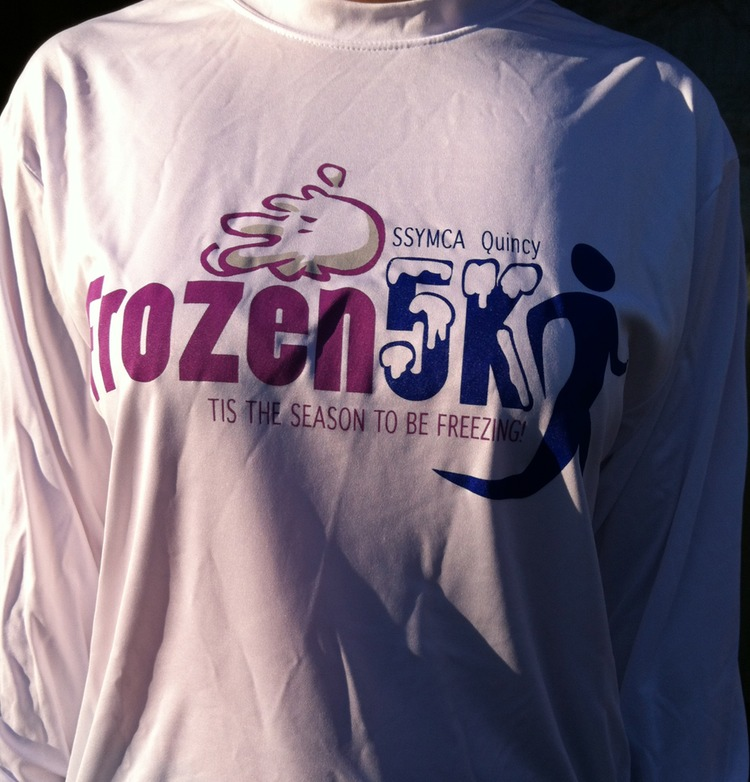 Frozen 5K. Quincy, MA. January 8, 2012