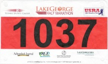 Lake George Half Marathon and 5K