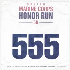 Boston Marine Corps Honor Run