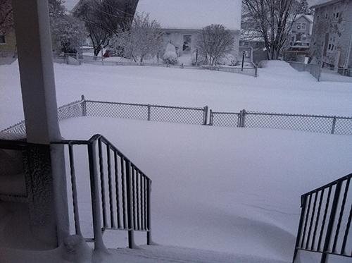 Snowstorm Nemo