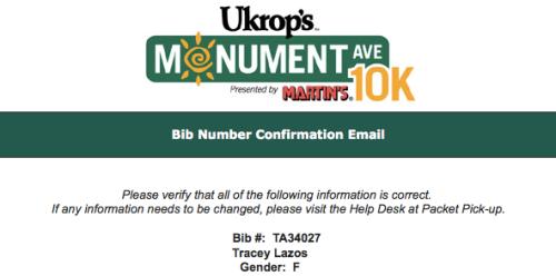 Ukrop's 10K number